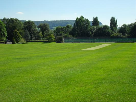 The large grounds allow students to take advantage of the summer weather fot their games and activities