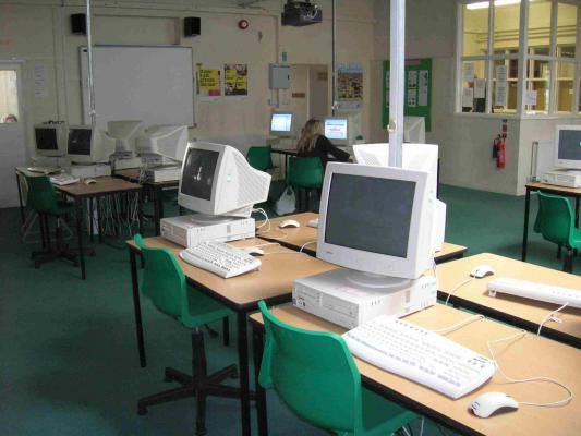 Students have access to the internet during certain times of the day